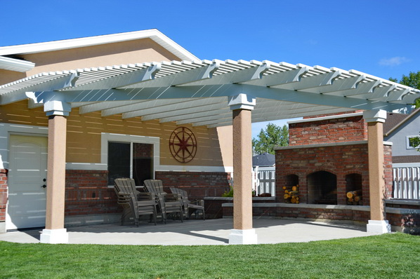 StuccoTrim for Columns | Boyd's Custom Patios