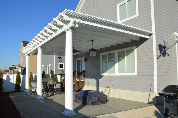 Pre Cast Tapered Columns | Boyd's Custom Patios
