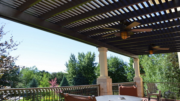 Lattice Covers and Pergolas in Utah | Boyd's Custom Patios