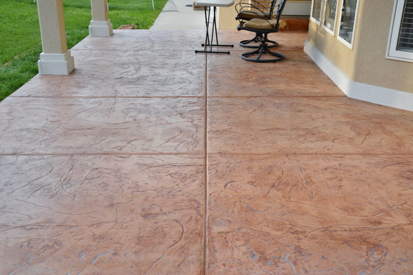 Stamped Concrete Patios In Utah Boyd S Custom