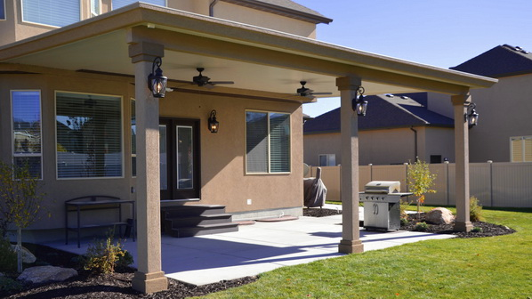 Marvelous Stucco Trim Patio Covers In Utah | Boydu0027s Custom Patios