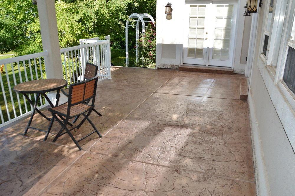 Lightweight Concrete Decks Gallery Boyd S Custom Patios
