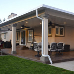 Mitered Patio Cover - Gallery 3 | Boyd's Custom Patios