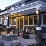 Stone Stucco Brick Posts Patio Covers - Gallery 2 | Boyd's Custom Patios