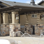 Stone Stucco Brick Posts Patio Covers - Gallery 4 | Boyd's Custom Patios