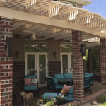 Stone Stucco Brick Posts Patio Covers - Gallery 10 | Boyd's Custom Patios