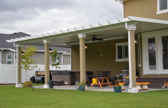 Solid Top Patio Covers | Boyd's Custom Patios