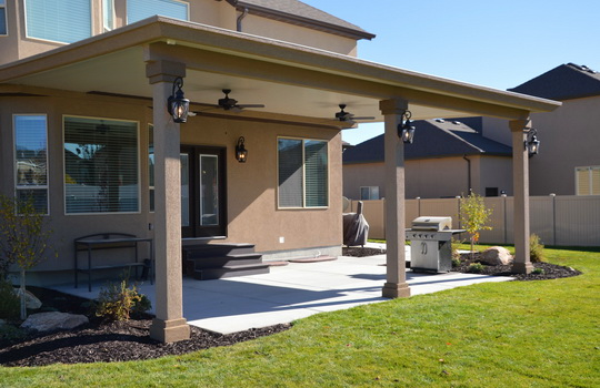 Stucco Trim Patio Covers - Patio Contractor In Utah Boyd's Custom Patios