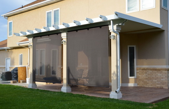 Sunscreens | Boyd's Custom Patios