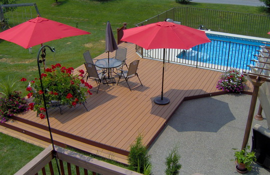 Composite Decks | Boyd's Custom Patios