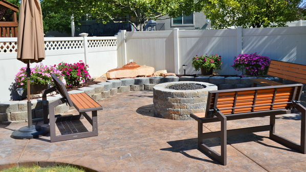 Stamped Concrete Patios in Utah | Boyd's Custom Patios
